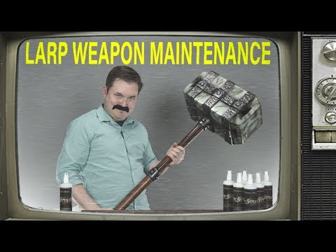 MCI-2000 Maintenance Silicone for LARP Weapons Infomercial from Medieval Collectibles