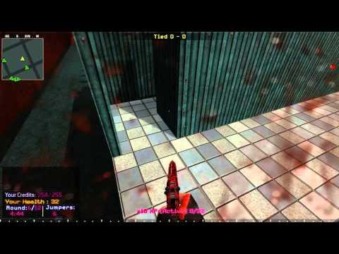 Cod 4 deathrun server BW map gooby/كود4 ديث رن سيرفر بلوود ووريورز ماب جوبي