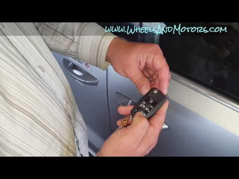How to reset/re-program VW remote key, or change the battery (Audi, Skoda, SEAT)