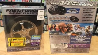 Fast and Furious Blu-ray Collection Limited Edition Unboxing
