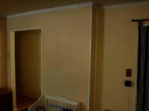 Wood Paneling Before and After