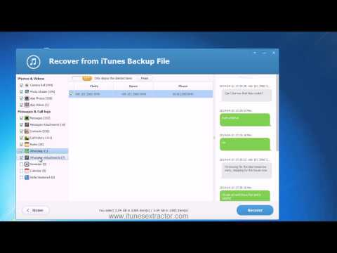 How to restore iPhone contacts from iTunes backup