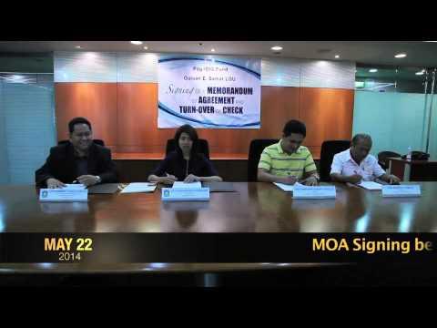 MOA signing between Pag-IBIG Fund and Guian LGU
