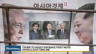Trump to Insist Kim Make First Move on Nuclear Timeline