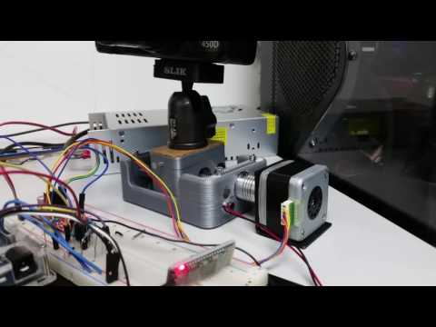 Demo - DIY Arduino Bluetooth Stepper Motor Camera Slider with Android App
