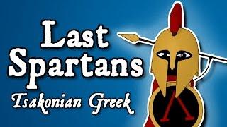 Last Spartans: the survival of Laconic Greek
