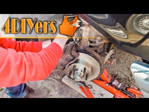 DIY: Ford Ranger 2wd Front Brake Pad and Rotor Replacement