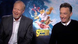 Tom Kenny and Bill Fagerbakke Talk 'The SpongeBob Movie: Sponge Out of Water'