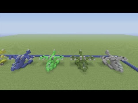 Minecraft Xbox 360 Edition: How To Build a UNSC Hornet