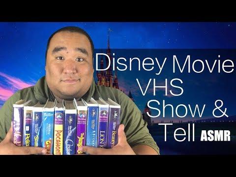 [ASMR] Disney Movie VHS Show & Tell | MattyTingles