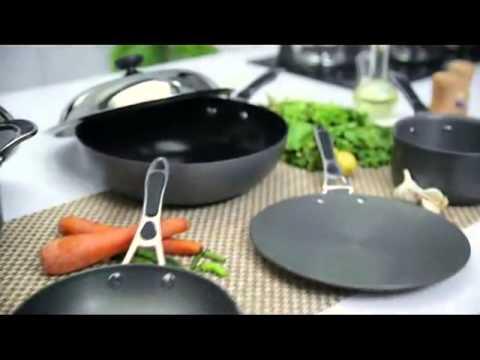 Alda Cookware Hard Anodised - Alda India