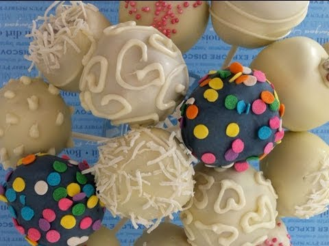how to make dip and decorate cake pops  How To Cook That Ann Reardon