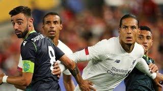 Bruno Fernandes vs Liverpool - WHAT DID JURGEN KLOPP TELL TO BRUNO FERNANDES? • 1080p HD
