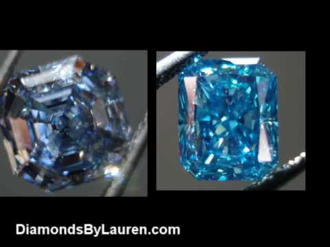 Is a natural blue diamond different than a treated one?