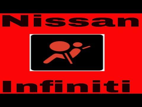 How to reset airbag light on nissan or infinity - PakVim net