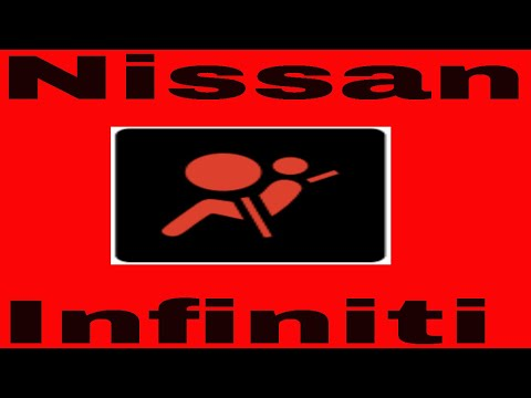 How to reset airbag light on nissan or infinity