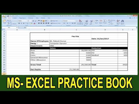 Excel in hindi pdf ms tutorial