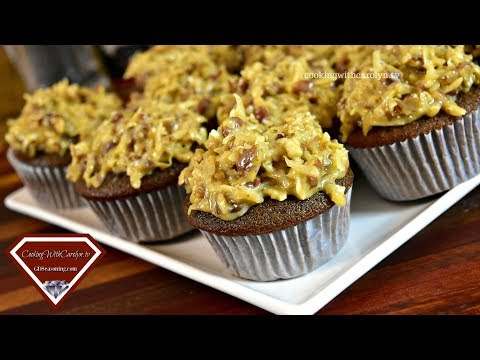 BEST EVER GERMAN CHOCOLATE CUPCAKES | IS GERMAN CHOCOLATE FROM GERMANY?