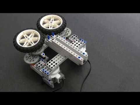 Lego Nxt paper airplane launcher