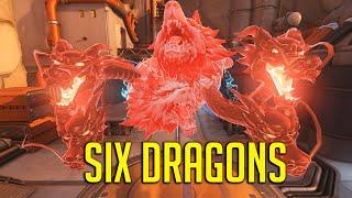SIX DRAGONS! Hero Stacking Meta