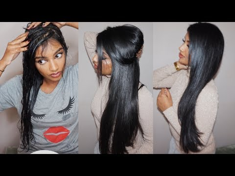 DIY Coconut Oil Hair Mask for Shiny Looking Hair