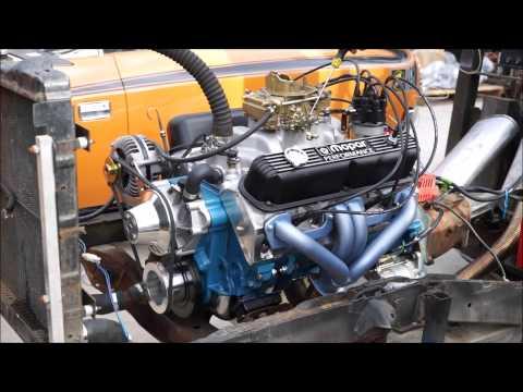 Chrysler 408ci Small Block LA Engine Test