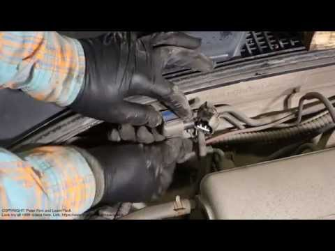How to replace MAP sensor in Toyota Avensis car