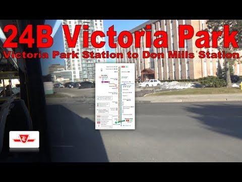 24B Victoria Park - TTC 2017 Nova Bus LFS 8940 (Victoria Park Station to Don Mills Station)