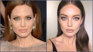Angelina Jolie Makeup Tutorial! | Emily DiDonato + Erin Parsons