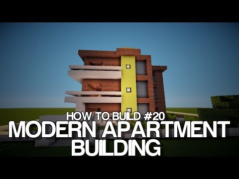 How to build #20 - Modern Hotel/Apartment building