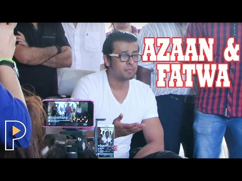 Sonu Nigam Press Conference (Full Video) Following Azaan Controversy & Fatwa by Kolkata Maulvi