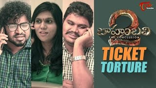 Baahubali Ticket Torture || By Fun Bucket Team || Comedy Skit