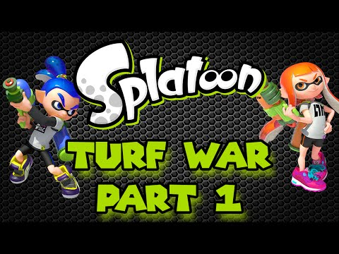 Splatoon Multiplayer : Turf War Part 1