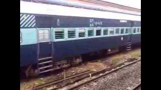 Indian Railways At Lahore Pakistan (samjhota express rake )