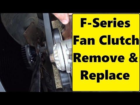 F150  350 Fan Clutch REPLACEMENT