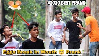 EGGS BREAK IN MOUTH PRANK ON PUBLIC  2020 BEST PRANK EVER  PRANK IN INDIA  BY TCI