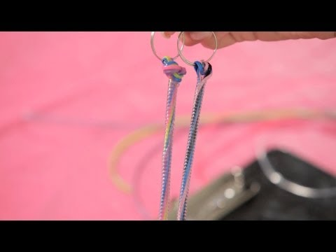 How to Make Tunnel Bracelet w/ Lanyard | Bracelet Patterns