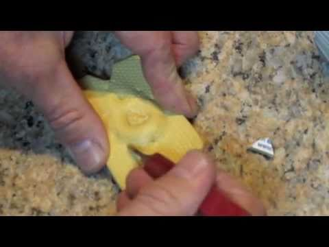 How to make a rubber mold of a ring model for lost wax casting