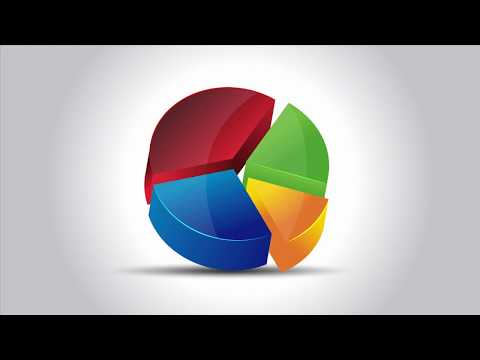 Illustrator CC Tutorial | Graphic Design |  3d Pie Chart