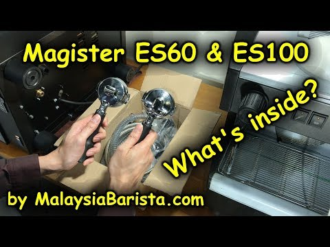 Magister ES60  & ES100 - What comes with it (4K)