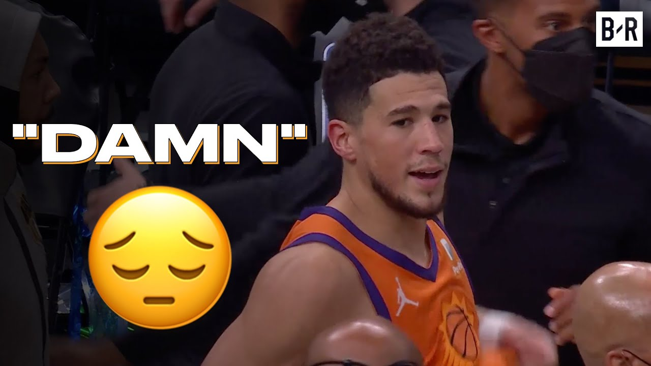 Watch Devin Booker's Reaction After Losing His First NBA Finals