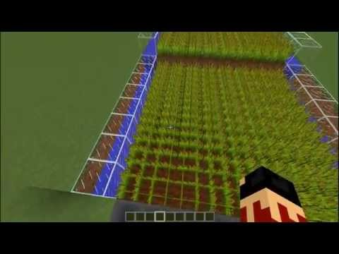 Minecraft Tutorials   How to make an Automatic Farm without Sticky Pistons V.2