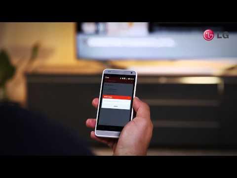 LG Training Video TV Remote App