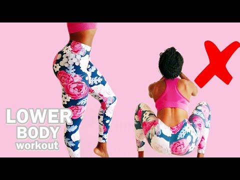 10 MIN NO SQUATS LOWER BODY WORKOUT || Get Perky Glutes & Toned Thighs - No Equipment Home Workout