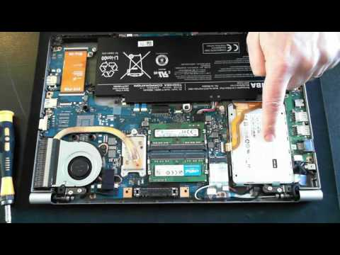 Toshiba Z40 Ultrabook Teardown