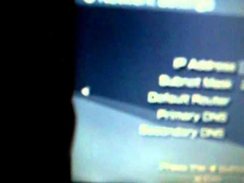 How To Fix A PSP DNS Error -