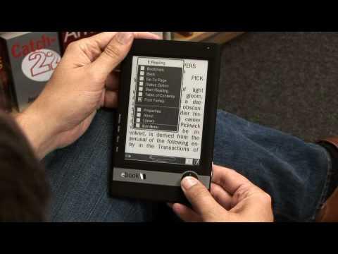 Borders e-book reader