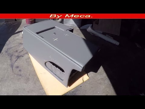 How to Make Truck Custom Center Console. Part 5-6 |How Upholster center console  Door -  DIy