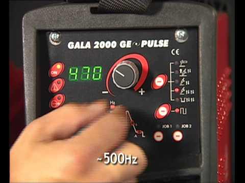 GALA GAR 2000 PULSE TIG
