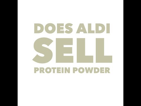 Does Aldi sell protein powder